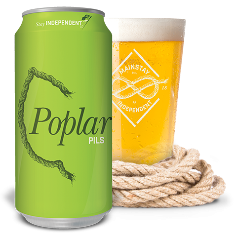 Mainstay Independent Brewing Poplar Pils Pilsner